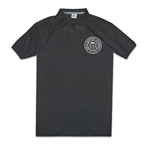 Jewelry Cool Custom (MZONE Men's Texas Christian University Cool Polo Tshirt)