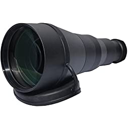 Bering Optics BE80206 6.6X Objective Lens, Black
