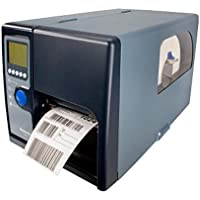 Intermec PD41BJ1100002020 Series PD41 Direct Thermal Transfer Commercial Printer, USB, Serial, Ethernet, Parallel IEEE 1284, Euro and US Power Cords, Label Taken Sensor, 203 dpi