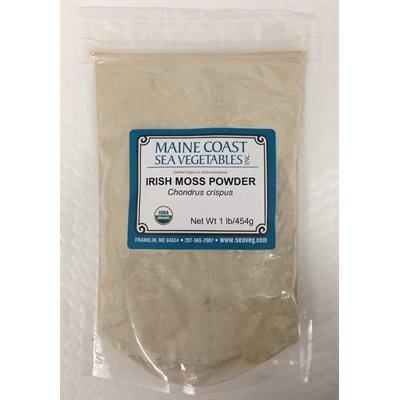 Organic Raw Irish Moss Powder - 1 Lb (Flakes Irish Moss)