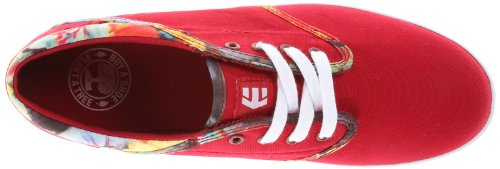 etnies Womens Caprice Eco Lace-Up Fashion Sneaker Red gmpECaS