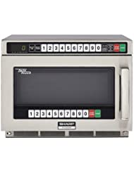 Sharp Heavy Duty Twin Touch Commercial Microwave - 2200 Watt