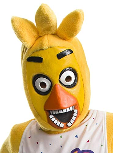 Rubie's Costume Boys Five Nights at Freddy's Chica The Chicken 3/4 Mask Costume, One ()