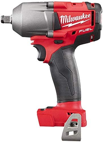 Milwaukee M18FMTIWF12 M18 Fuel Mid-Torque 1//2 Impact Wrench with 1 x 5.0Ah Battery /& Carry Case