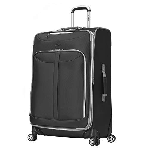 Rolling Luggage Suiter (Olympia Luggage  Tuscany 30 Inch Expandable Vertical Rolling Luggage Case,Black,One Size)