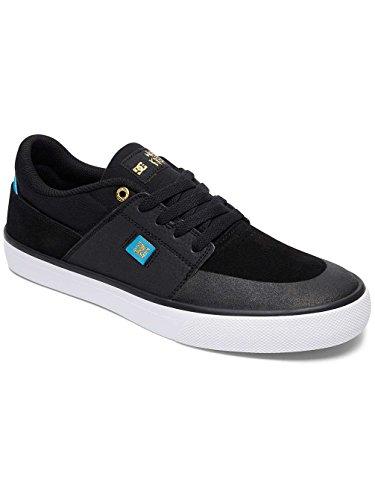 DC Shoes WES Kremer, Espadrillas Basse Uomo Negro