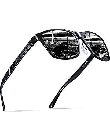 5b369ed8890c ATTCL Men s Retro Metal Frame Driving Polarized Sunglasses Al-Mg Metal  Frame Ultra Light
