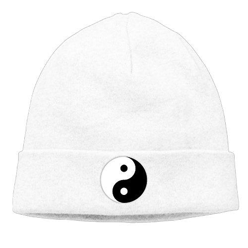 Designer Skull Beanies Hat Yin-Yang