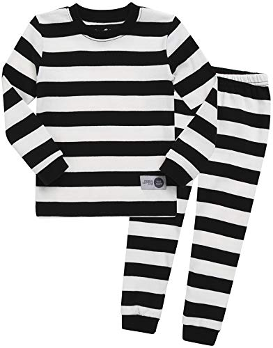 Girls Black Magic - Vaenait baby Kids Girls Sleepwear Pajama 2pcs Set Color Magic Black White M