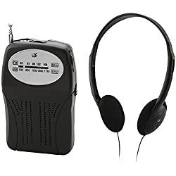 GPX Portable AM/FM Radio
