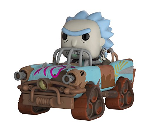 Funko Pop Rides Morty-Mad Max Rick Collectible Figure by Funko