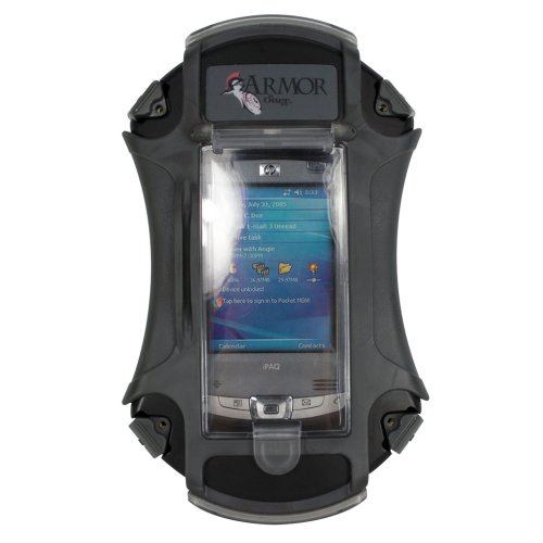 Rugged Pda Cases - Blk Rugged Universal Pda Case for Otterbox 3600 Pda