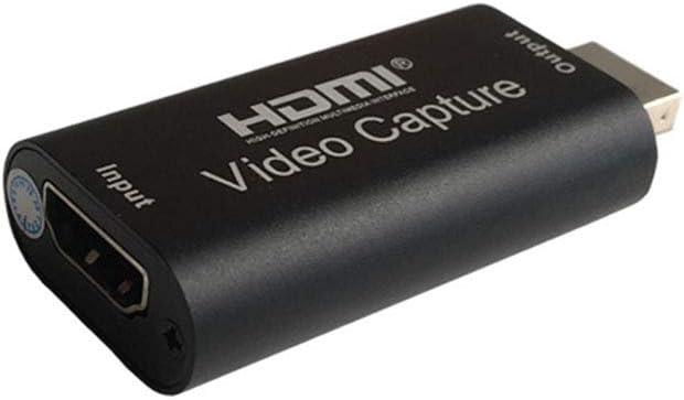 SSyang HD Video und Audio Capture Card,4K HDMI zu USB 2.0 Videoaufnahmekarte,1080P 30 fps HD Video und Audio Capture Device,Aufnehmen und Teilen f/ür Gaming//Lehren//Videokonferenzen//Live Streaming.