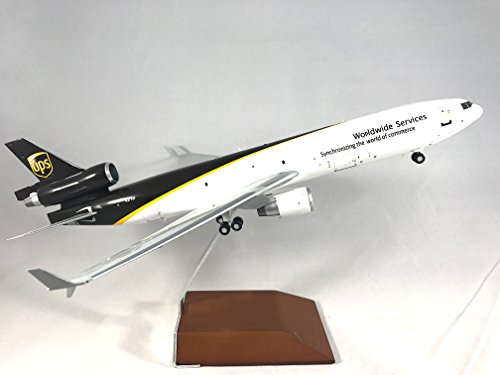 GeminiJets UPS United Parcel Service McDonnell Douglas MD-11 Diecast Airplane Model N277UP With Stand 1:200 Scale Part# G2UPS433