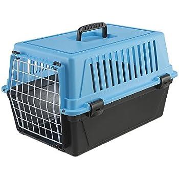 Ferplast Atlas 10 Cat and Dog Carrier, Blue