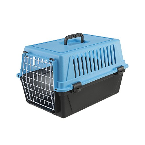 Ferplast Atlas 10 Cat and Dog Carrier, Blue
