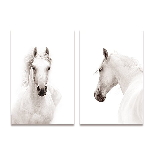 horse framed art - 1