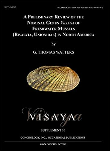 A Preliminary Review Of The Nominal Genus Villosa