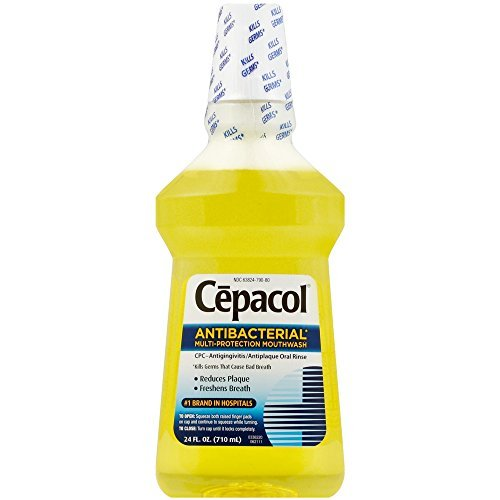 Cepacol Antibacterial Multi-Protection Mouthwash 24 oz (Pack of 12)