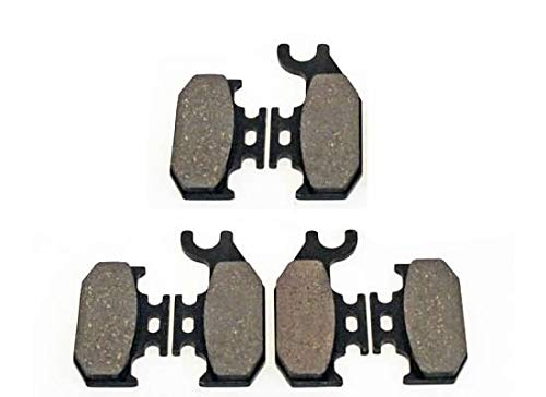 Front and Rear Brakes 2003 2004 2005 Bombardier Outlander 400 Max H.O