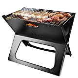 Best Portable Charcoal Grills - TeqHome Foldable Charcoal Grill, Portable BBQ Barbecue Grill Review
