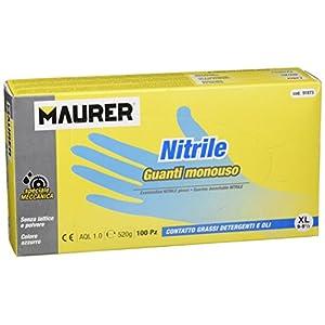 Maurer 15030636 Guante Desechable Nitrilo Talla 9 XL Caja 100 Unidades 5