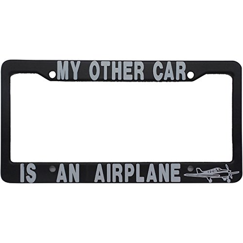 Wing Aero My Other Car is a Airplane - License - My Car Is License Other Plate