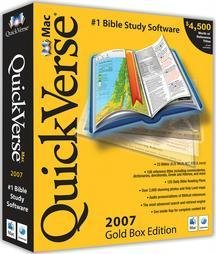 Quickverse Mac Bible Study 2007 Gold Box