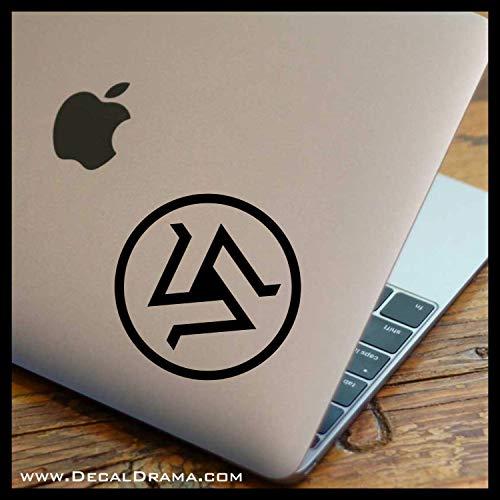 Alpha Pack Triskelion SMALL Vinyl Car/Laptop Decal
