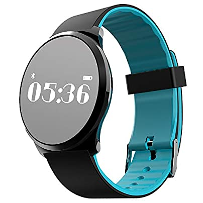 Fitness Smart Wristband with Heart Rate Monitor Blood Pressure Watch Activity Tracker IP67 Waterproof Sleep Monitor Pedometer Calorie Counter Compatible with Android iOS for Women Estimated Price £36.99 -