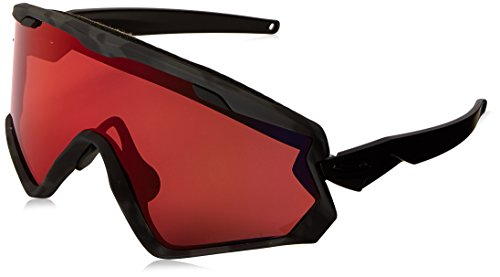 Oakley Wind Jacket 2.0 Snow Goggles, Night Camo Frame, Prizm Torch Iridium Lens, ()