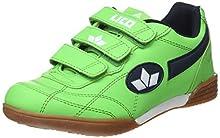 Lico 360322, Zapatillas de Deporte Interior para Niños, Verde, 38 EU