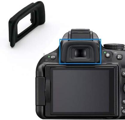 DK-20 Capuchons de viseur pour Nikon D40 D40X D50 D60 D70 D70S D3000 D3100 D3200 D3300 D3400 D5000 D5100 D5200 D53333330 00 D5 500 D5600 Cache-viseur DK20 Viewfinder