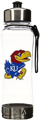 Kansas Jayhawks House (NCAA University of Kansas Jayhawks Clip-On Water Bottle)