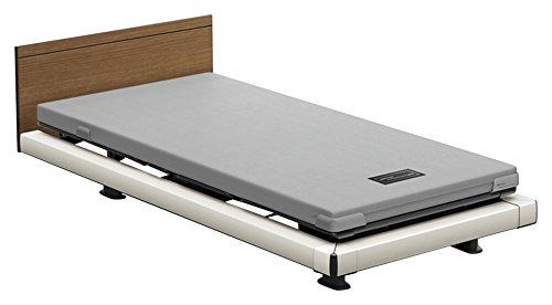 パラマウントベッド 電動ベッド インタイム1000 マットレス付 1+1モーター ヨーロピアン フットボードあり (グレー) RQ-1136SD+RM-E531 【4梱包】 B076DNM62R 木目柄(レッド)|ヨーロピアン フットボードあり (グレー) 木目柄(レッド)