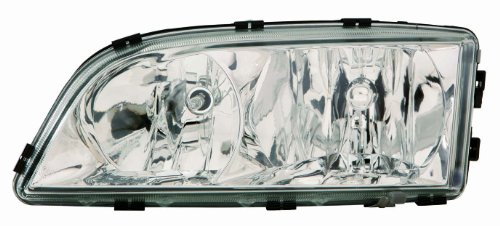 2003 Headlight Lh Driver - Depo 373-1124L-AS Volvo C70 Driver Side Composite Headlamp Assembly with Bulb and Socket