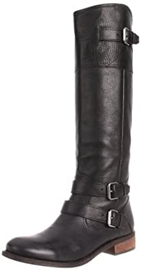 DV by Dolce Vita Women's Tyson Boot,Black Leather,6.5 M US