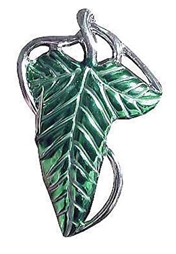 Rubie's Lord of The Rings Leaf Clasp, Multicolor One Size ()