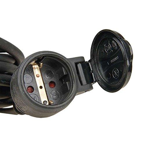 H07RN-F3G 1,5 mm2 Gummi-Verl/ängerungskabel f/ür den Au/ßenbereich IP44 EMOS E 008 10 m Schuko