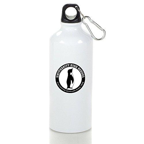 (UHS High School Cool Aluminum Sports Water Bottle - 400/500/600ML 600ml)