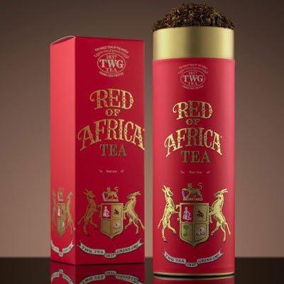 シンガポールの高級紅茶TWGオートクチュール アフリカRED - 100gr並行輸入品