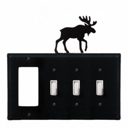 Moose - Single GFI and Triple Switch Cover