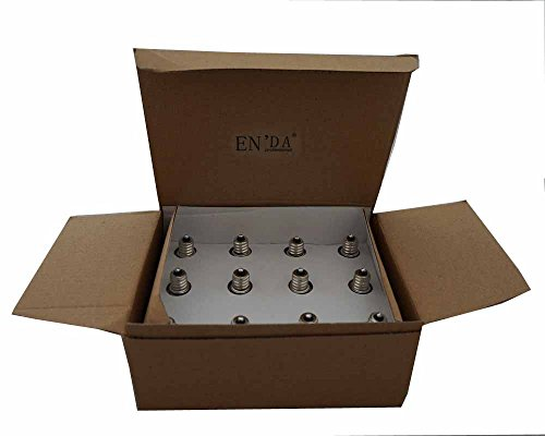 1doz 12-pack E12 to E26 / E27 Adapter – Converts Chandelier Socket (E12) to Medium Socket (E26/e27)