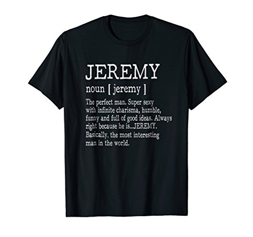 Adult Definition - First Name Jeremy Men T-Shirt Funny