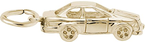 Rembrandt Sport Compact Car Charm - Metal - Gold-Plated Sterling Silver ()