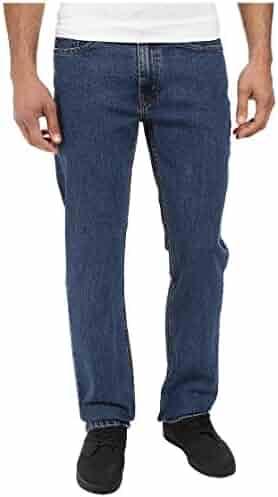 Levi's Men's 514 Straight Fit Stretch Jeans - 34W x 32L - Stonewash Stretch