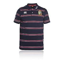 Canterbury British And Irish Lions Cotton Stripe Training Polo Shirt - SS17