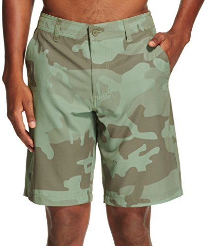 Mossimo Men's Hybrid Swim Shorts (36, Bright (Bright Olive)
