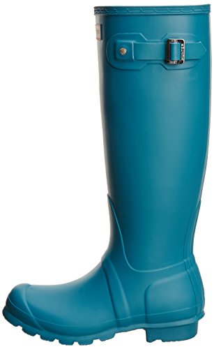 Hunter W Original Tall Rain Botas Bright Peacock Mujeres 7