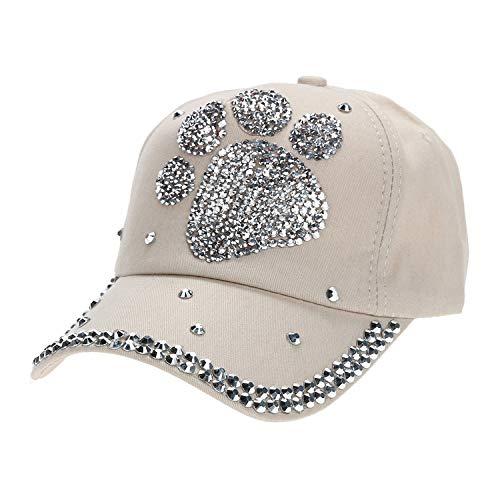 カジュアル 子供 野球帽子 女の子男の子 ダイヤモンド帽子,ベージュ,ハートシェイプ